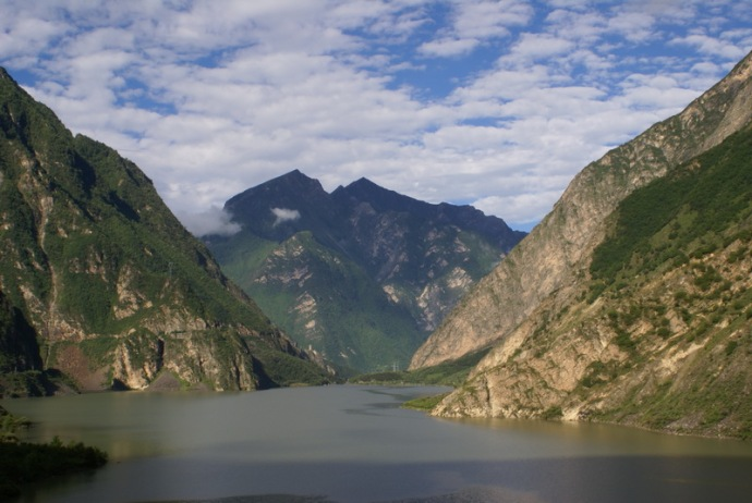 Diexi Lake of Maoxian